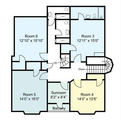 Montgomery House Second Floor