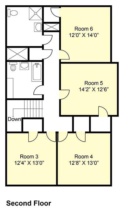 Weston House - Second Floor