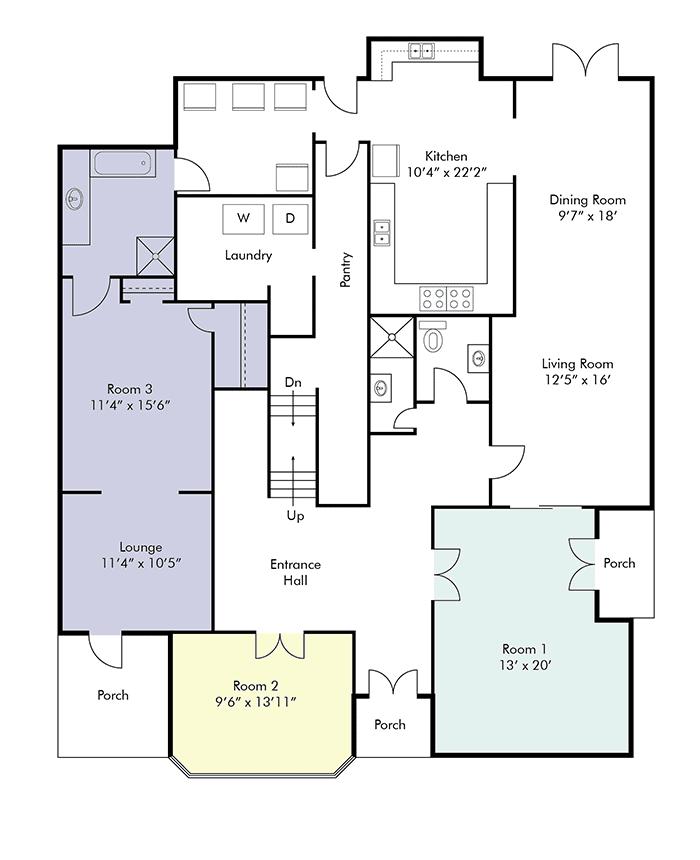 Park Villa First Floor Plan