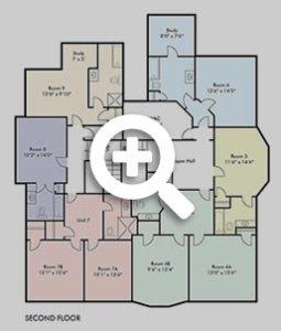 Park Villa Second Floor Plan